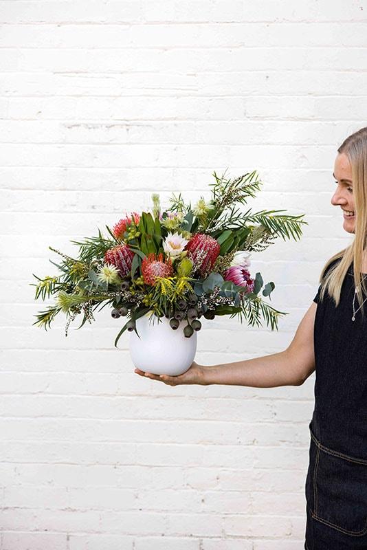 Banskia Beauty Flower Arrangement