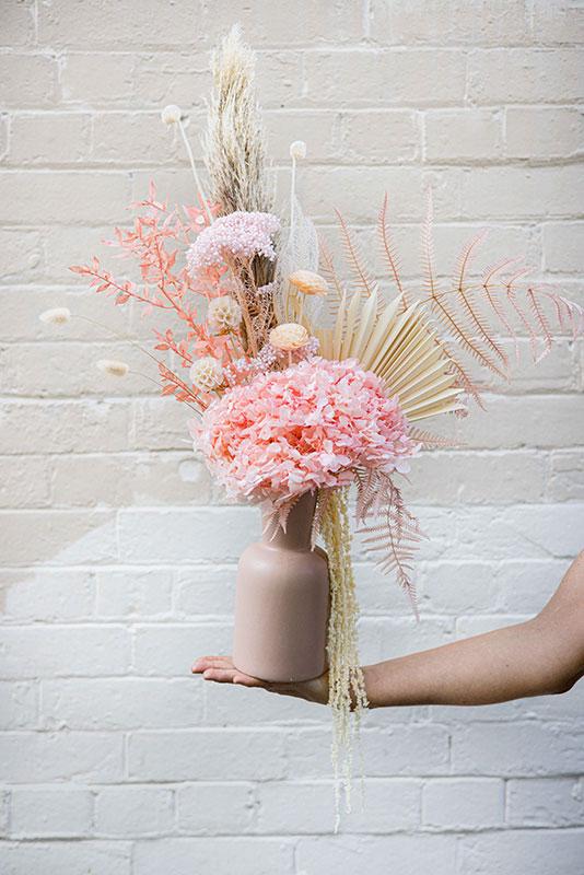 Blush Florals Large Dried Flower Arrangement