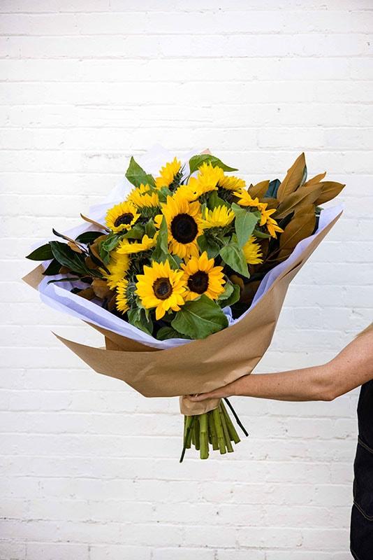 Citrus Scents Sunflower Bouquet