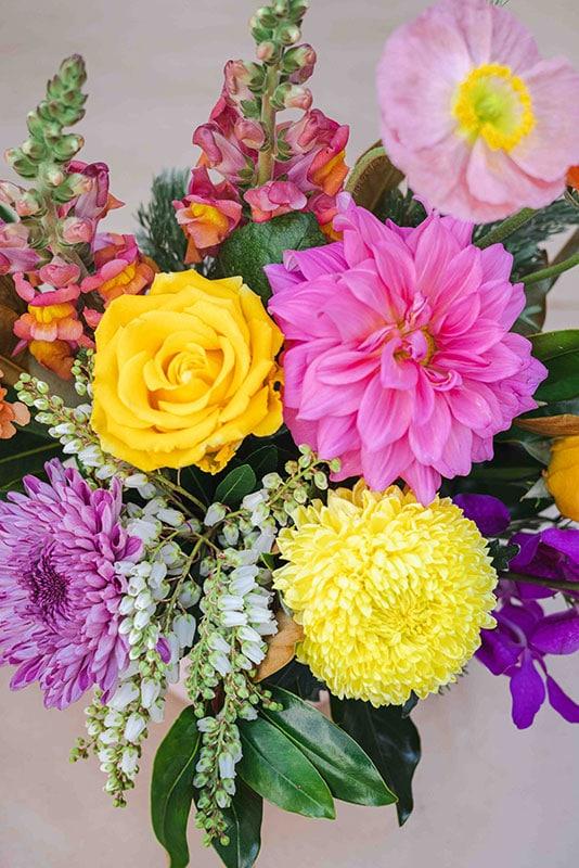 Florist Choice Bright Flowers - Mater Florist Brisbane