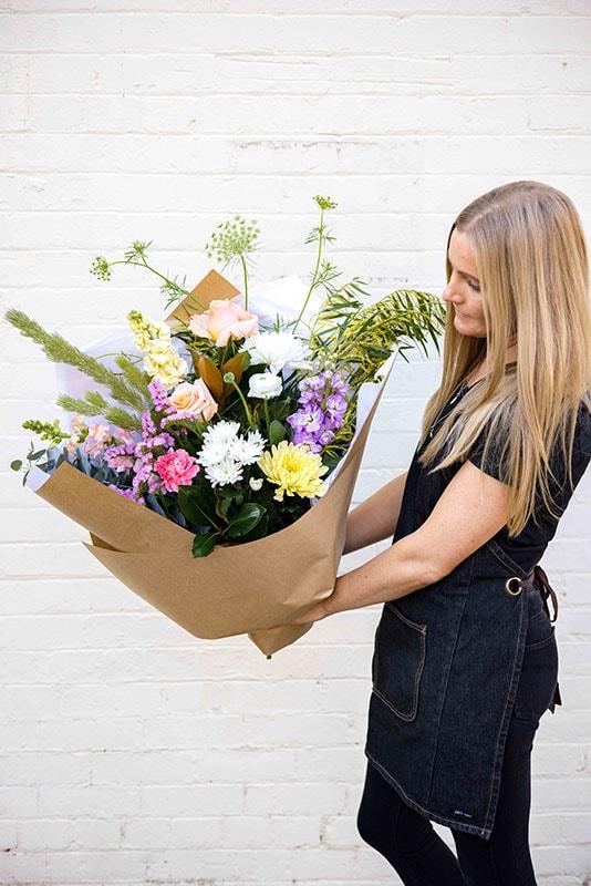 Florist Choice Pastel Flower Bouquet