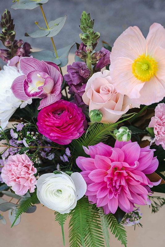 Pink Blush Flowers Mater Florist Brisbane