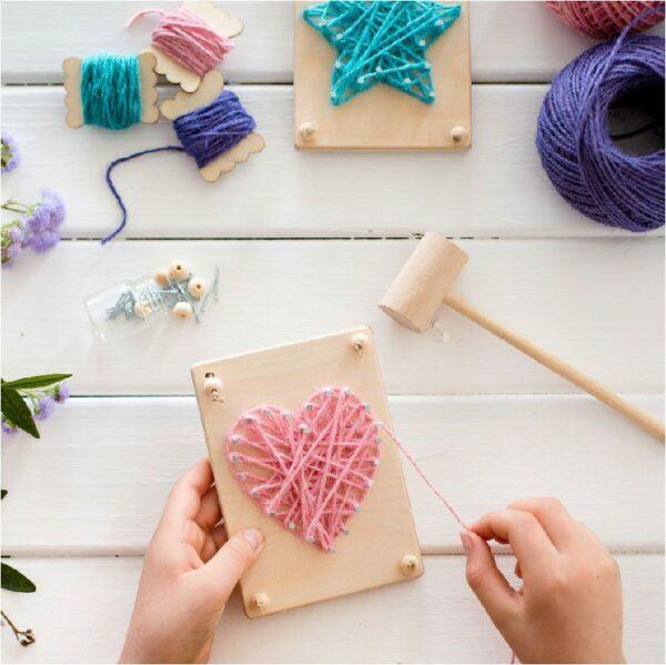 String Art Kit - Poppy and Daisy