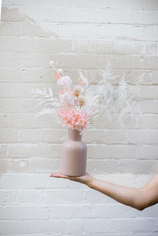 The Pastel Dream Medium Dried Flower Arrangement