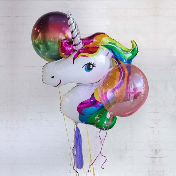 Mater Florist Unicorn Balloon set