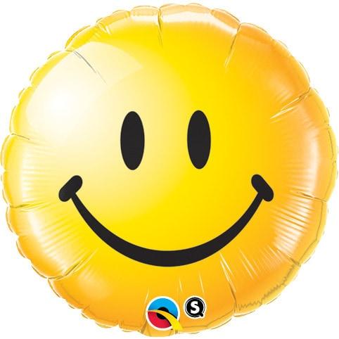 Smiley Face Helium Balloon